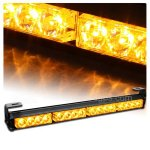 "18"" Emergency Warning Traffic Advisor Vehicle Strobe Light Bar-Amber"