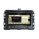 7 Inch Car DVD GPS Navigation Radio System Stereo for Dodge Ram 1500 2500 3500 2013-2015 with Bluetooth, MP5/SD/USB, Time display