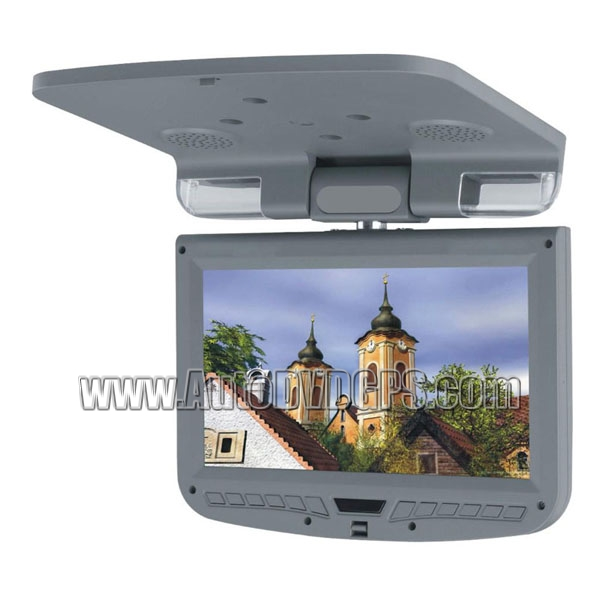 9inch  TFT-LCD Roof-mounted Monitor Gray