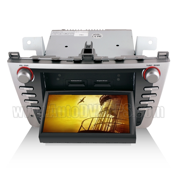 7 Inch Motorized Touchscreen DVD GPS Navigation player with BT CDC RDS & iPod control For 2008-2011 Mazda 6