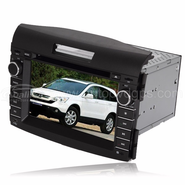 2012 HONDA CRV 2DIN DVD GPS player Bluetooth iPod with Digital Touch Screen Monitor