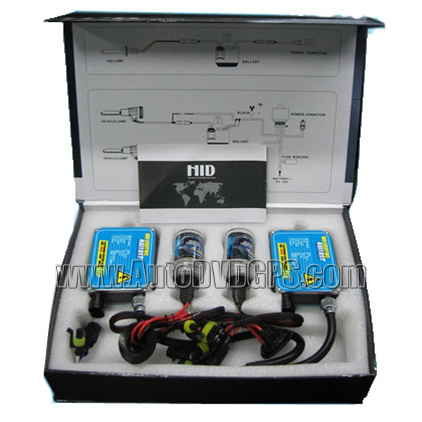 HID Xenon Headlight Conversion Kit with 8000K, 35W, 9004 Hid  Halogen Bulb