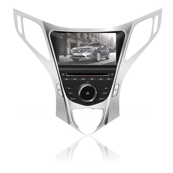 2012 Hyundai Azera Car DVD player with built-in GPS Navigation / Digital Screen / PIP Bluetooth