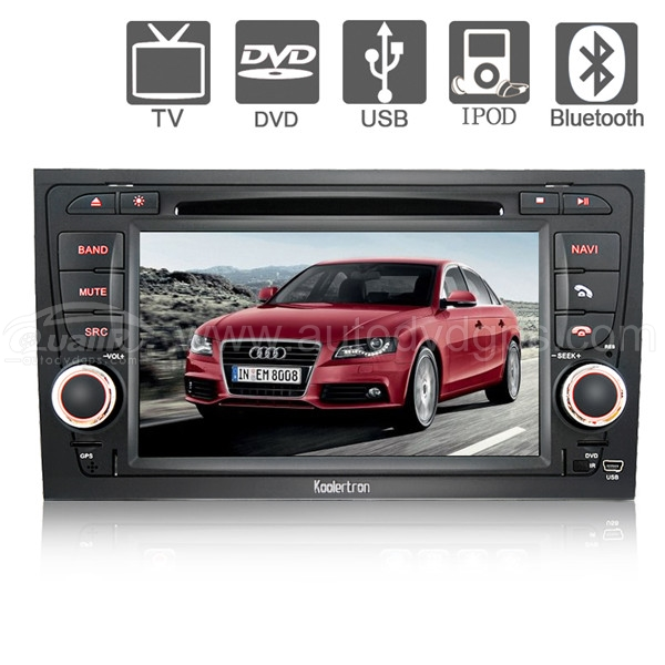 Audi A4 DVD,GPS Navigation player,with 7 Inch Digital Touchscreen,PIP RDS Bluetooth