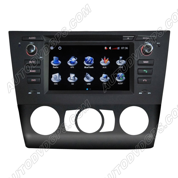 BMW 1 Series E81 E82 E87 E88 DVD Navigation System with 6.2 Inch HD touchcreen /for Manual Air-conditioner