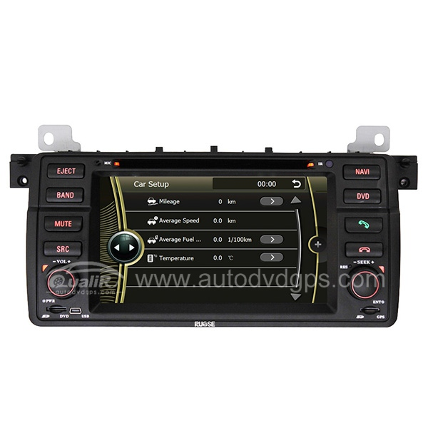 DVD-based Navigation System with 7 Inch HD touchcreen and iPod Bluetooth for BMW 3 Series E46 316i 318i 320i 325i 328i 330i