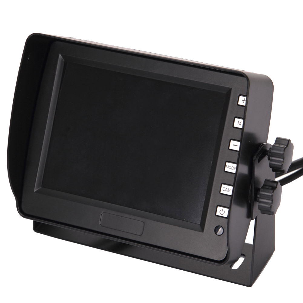 NEW Flip Down Car Monitor 5.6inch TFT Monitor 4 Way Input