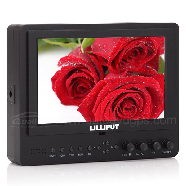 Lilliput 7inch  665GL-70NP HO Y 1080p LCD On DSLR Camera Monitor HDMI AV RCA, DU21 Battery + Charger
