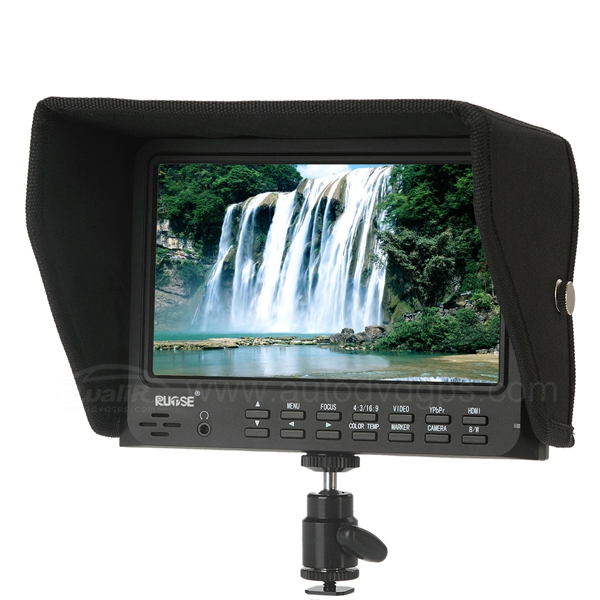 7 Inch LCD Field HD Monitor with Advanced Functions for Canon 5D-Ⅱ Camera