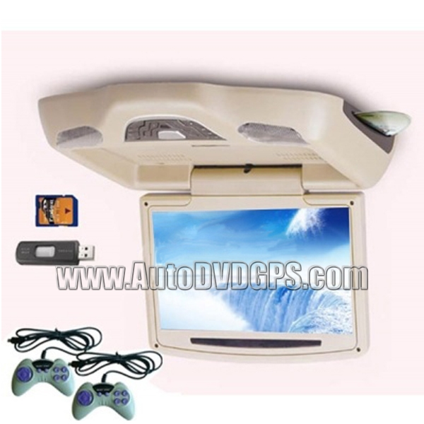 8.5inch  Roof-mounted DVD Player Monitor With MP4 Beige
