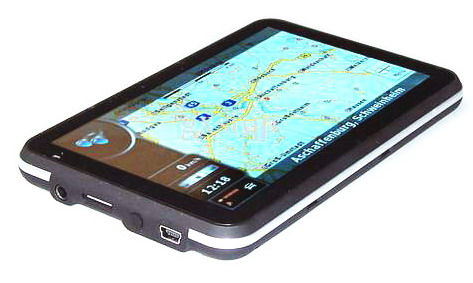 "Portable GPS Navigation With 4.3"" Touch Screen FM Transmitter"