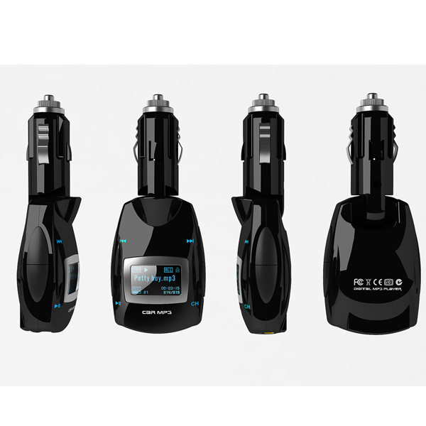 Car Wireless FM Transmitter Kit MP3 Player With USB SD LCD Remote