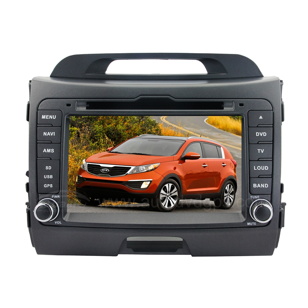 8 inch HD Android 4.4.4 Car DVD Player GPS Navigation Stereo for 2010 2011 2012 2013 Kia Sportage