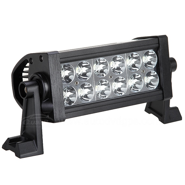 "36W 7"" waterproof Led spot beam Light Bar Diving Light Lamp Off Road"