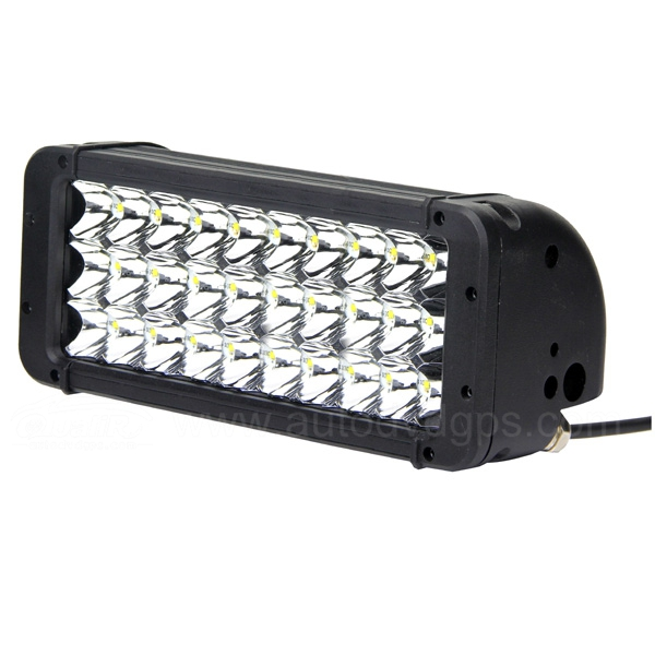Super 108W Bright Triple Rows LED Work Light Bar Spot Beam for Indicators Offroad Boat Car Tractor Truck