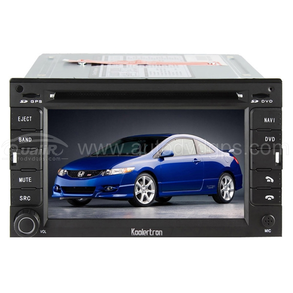 All-in-one car DVD Navigation player with Digital HD Touchscreen / PIP RDS Bluetooth iPod Control for Mitsubishi Grandis