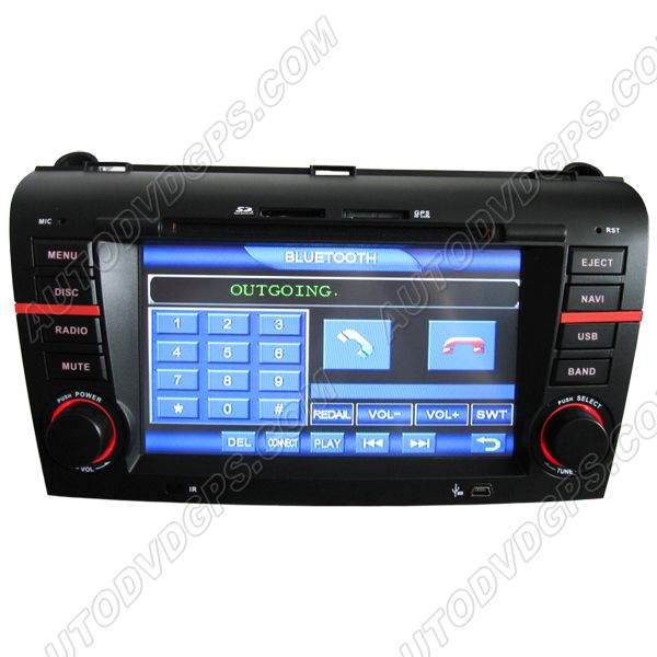 mazda 3 dvd player with gps navigation system