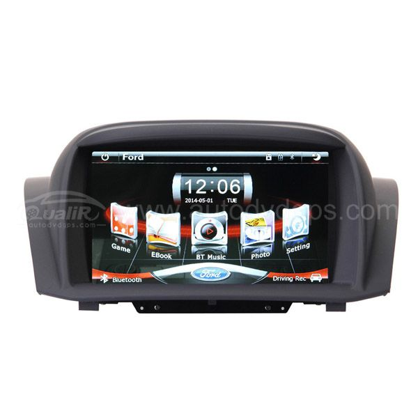 "Original Radio Multimedia Navigation System with 7"" TFT LCD Touchscreen Monitor for 2008-2013 Ford Fiesta"
