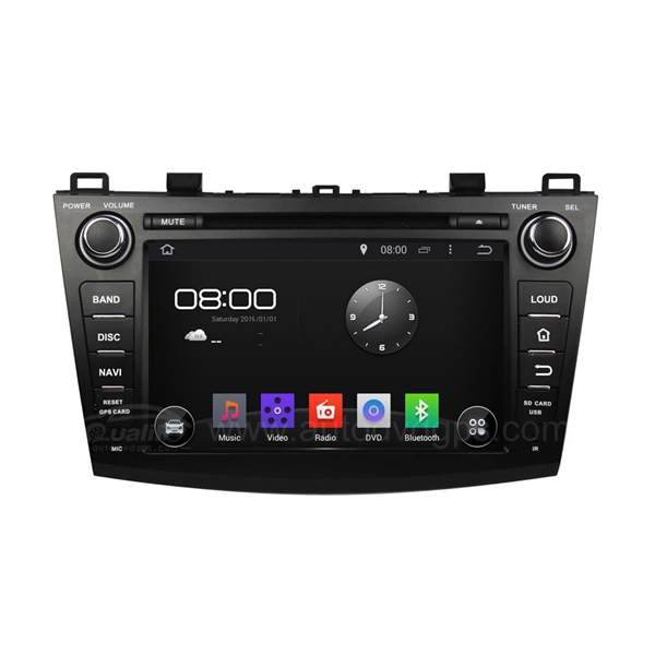"8"" Android 4.4 Car GPS DVD Radio Player With 3G/WIFI For 2009-2012 Mazda 3"