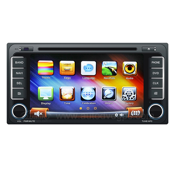 Universal Car DVD GPS Navigation With dual-core PIP Bluetooth Phonebook For TOYOTA  Corolla