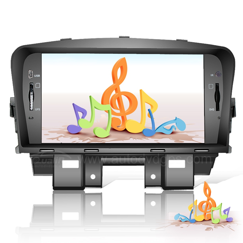 Chevrolet Cruze DVD GPS Navigation Player with Digital Touchscreen and PIP RDS and Optional built-in DVB-T