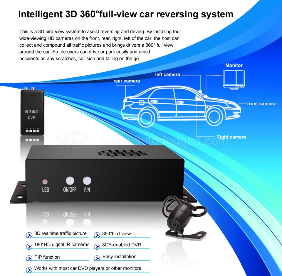 Intelligent Full-view Parking Assist System