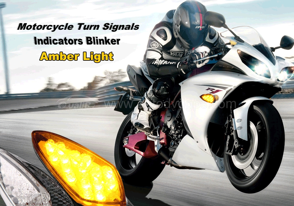 Motorcycle Turn Signals Light