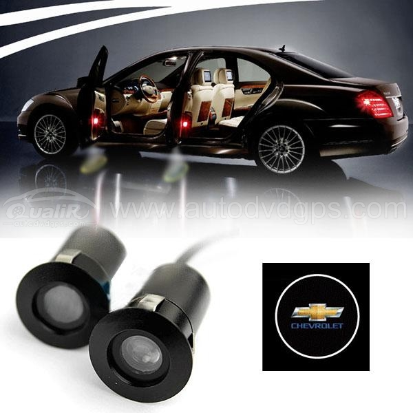 LED  Car Welcome Light Laser Logo Light For Chevrolet