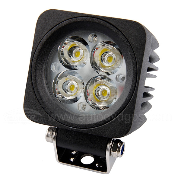 12W LED Work Light Lamp Motorbike Yacht Boat Jeep Off Road Forklift Bowfishing ATV Flood/Spot 12-24V