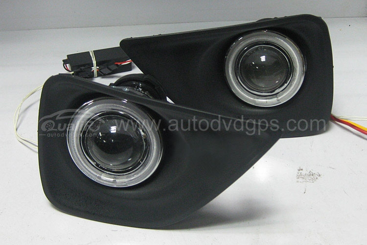 CCFL Angel Eyes Projector Fog Lamps for 10-12 Toyota MARK X