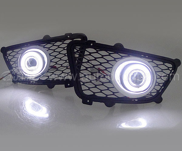 CCFL Angel Eyes Projector Fog Lamps for 08-12 Kia Sportage