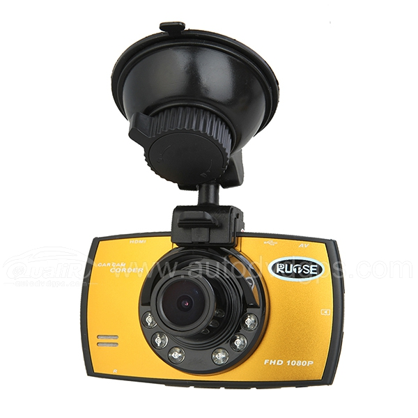 "Multifunctional High Definition HD 1920 x 1080 DVR LCD Screen 170 Degree View AngleMotion Detection HDML 2.7""TFT Car Camcorder"