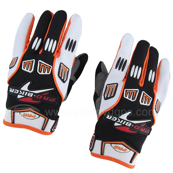 Motorcycle Motorbike Bicycle Cycling ATV Motocross Racing Full Finger Gloves L