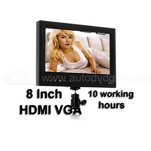 FEELWORLD FW819+970 8 Inch On-Camera HD DSLR Monitor 1080P HDMI VGA AV