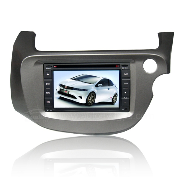 Right-Hand Steering-Wheel Honda Fit DVD GPS Navigation Player with Digital Touchscreen