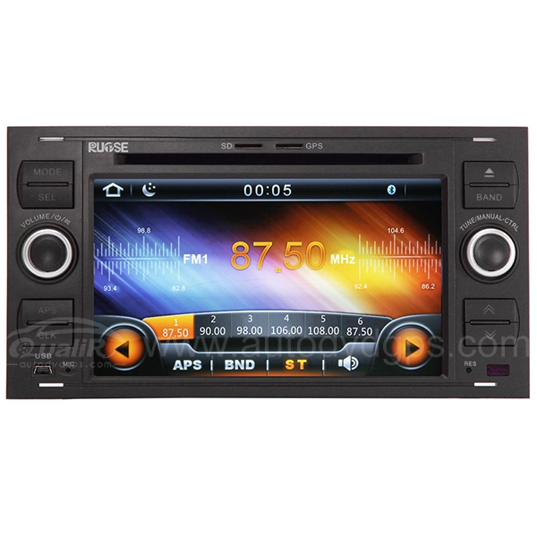 7 Inch Digital HD Touchscreen DVD GPS player with SWC iPod BT Control for FORD FOCUS FIESTA TRANSIT