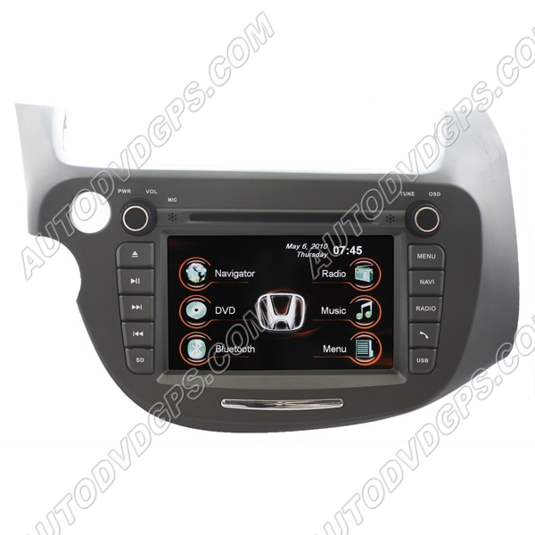 2009 Honda Jazz Oem Factory Navigation Radio Qualir Blog