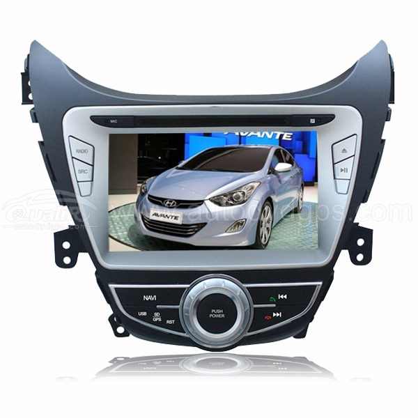 Product Image Of 8 Inch Dvd Gps Player Bluetooth Ipod With Digital Touch Screen Monitor For 2011