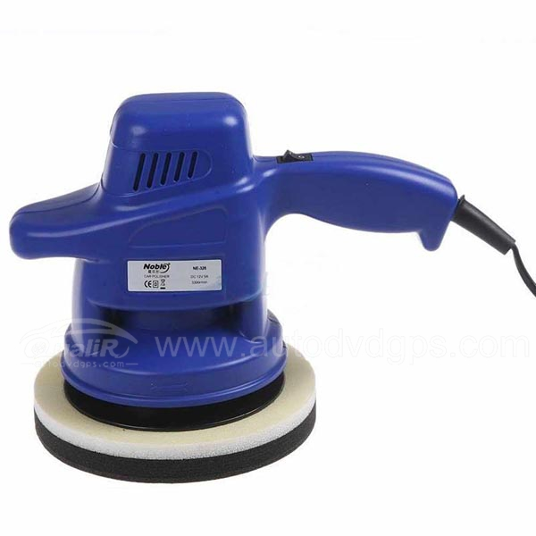"Car Care Tools 7"" Car Polisher car wax polishing machine DC 12V car waxer Blue"