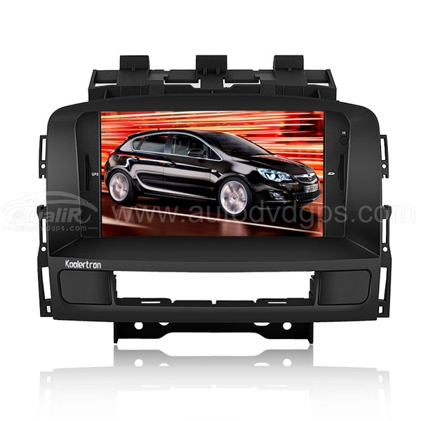 Car DVD Player with GPS navigation and 7 Inch HD touchscreen and Bluetooth for 2010-2011 OPEL ASTRA J