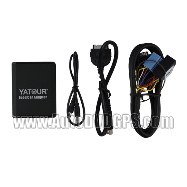 Yatour VW AUDI SKODA iPod iPhone input in Adapter 8 pin + Bluetooth (optional)