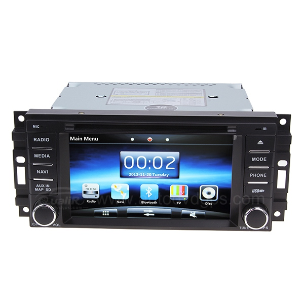 Chrysler Sebring, Jeep Commander Compass Car DVD GPS player with Digital Touchscreen Monitor
