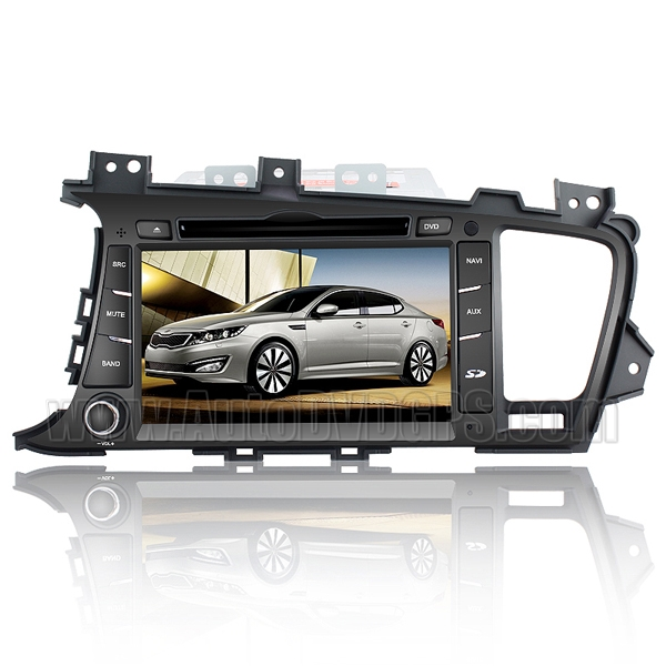 Car DVD Player with GPS navigation and 8 Inch HD touchscreen and Bluetooth for KIA K5 & 2011 OPTIMA