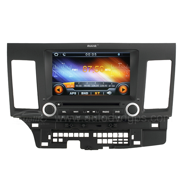 8 Inch Digital HD Touchscreen DVD GPS player with SWC iPod BT Control for 2007-2011 MITSUBISHI LANCER