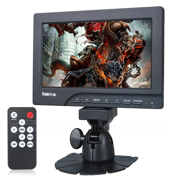 7 inch TFT LCD Touch Screen VGA Monitor with HDMI Input