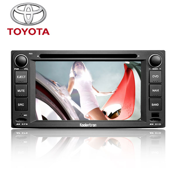 Koolertron Car DVD GPS Navigation Player with High Definition Screen and BT RDS PIP /Steering Wheel Control for Toyota Land Cruiser