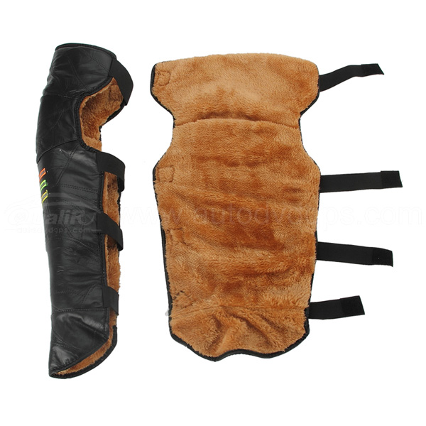 PU Leather Wind Protection Motorcycle Knee Pad Motor Pads