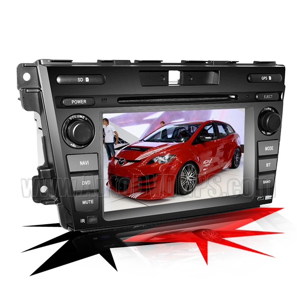 "Mazda CX-7 DVD Player with GPS navigation and 7"" HD touchscreen and Bluetooth iPod CAN-BUS"