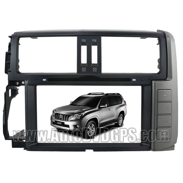 8 Inch HD Touch screen DVD GPS Navigation Player with PIP RDS iPod V-CDC for 2011 TOYOTA Land Cruiser Prado