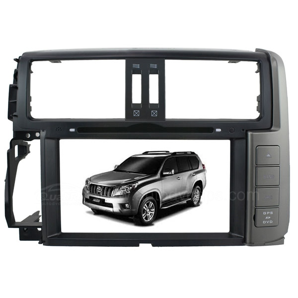 8 Inch HD Touch screen DVD GPS Navigation Player with DVB-T PIP RDS iPod V-CDC for 2011 TOYOTA Land Cruiser Prado